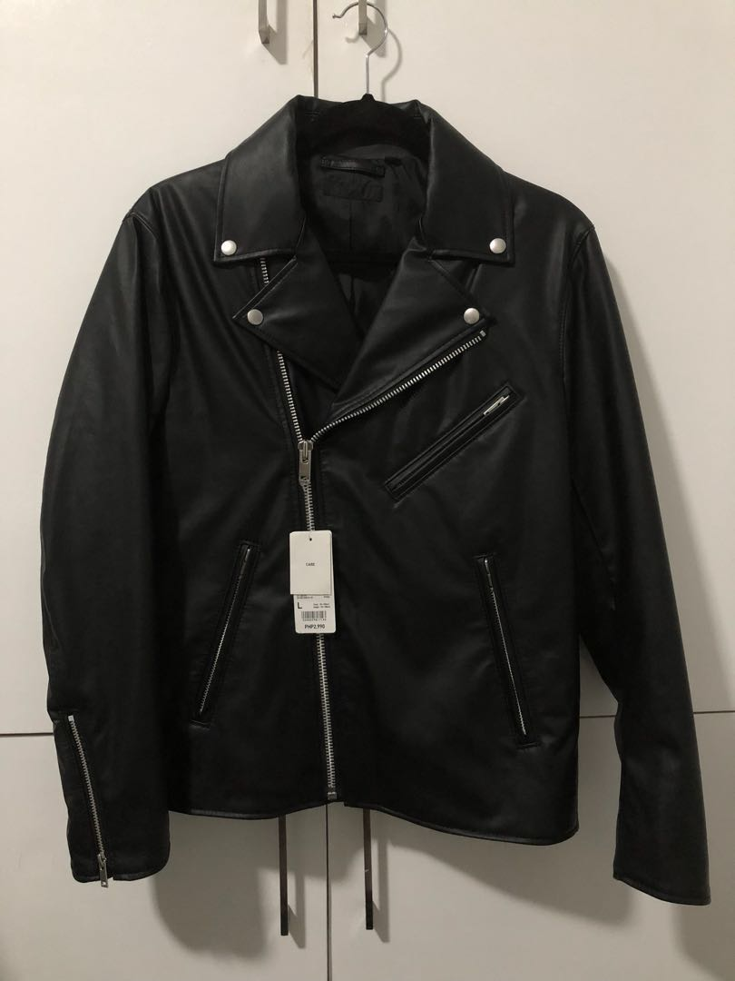 ff81107ed Brandnew Uniqlo Faux Leather Jacket on Carousell