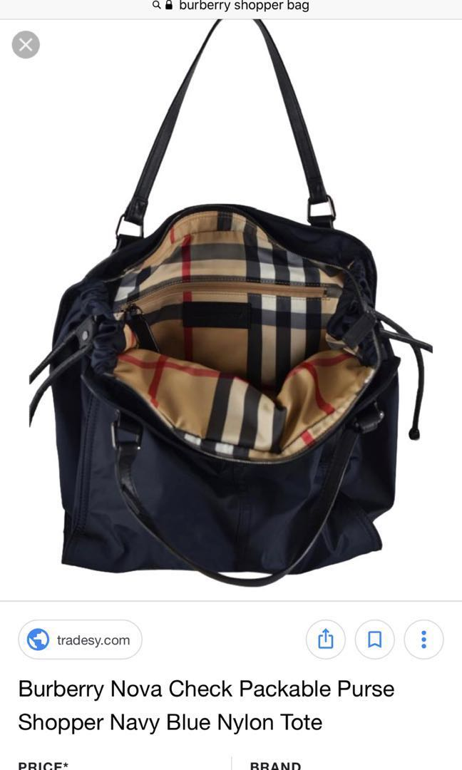 Burberry Bag, Luxury, Bags   Wallets, Handbags on Carousell 385e576ad2