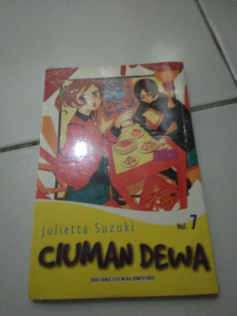 Cabutan Komik Ciuman Dewa 7 9 Segek Books Stationery Comics