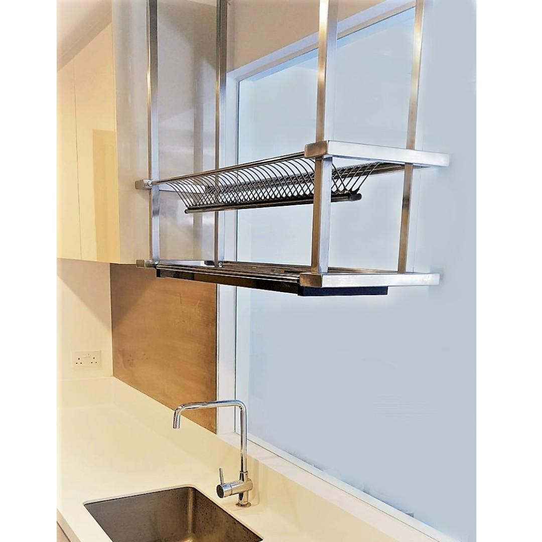 Ceiling suspended Dish Rack