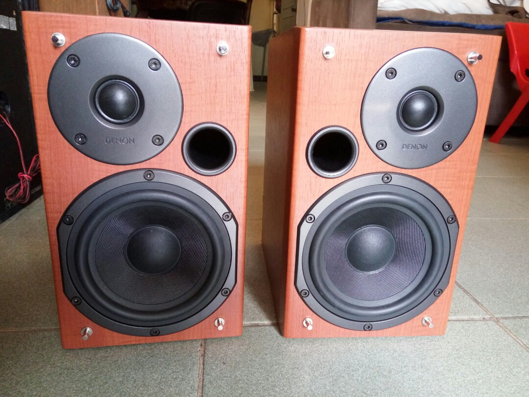 Denon Bookshelf Speaker From Japan Electronics Audio On Carousell