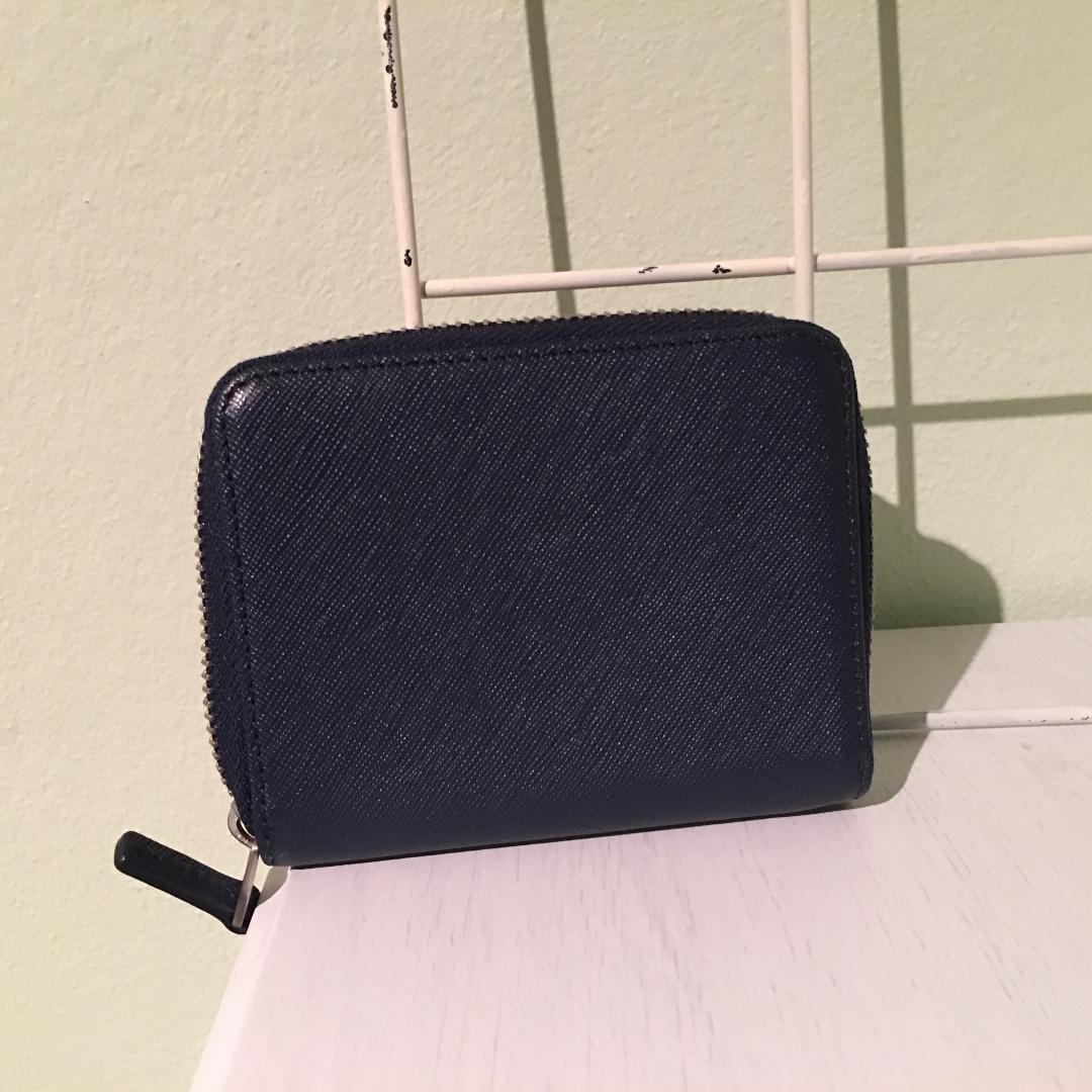 Ecco Navy Blue Wallet