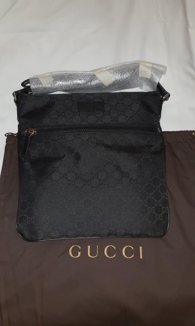 267c12ef1557 Gucci designer sling bag mens hype, Luxury, Bags & Wallets, Sling ...