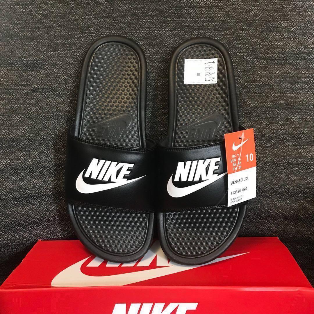 179bd56c4679 INSTOCK Black Nike Benassi Slides