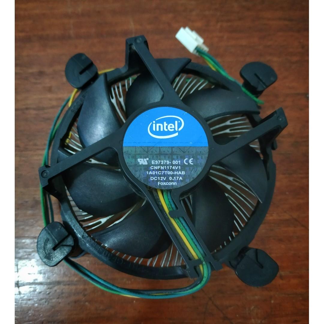 Intel Fan Procesor Lga 1155 Original Hitam Daftar Harga Terlengkap Processor G630 Tray Dual Core I3 2100 Chipset Team 4gb Ddr3 1333mhz