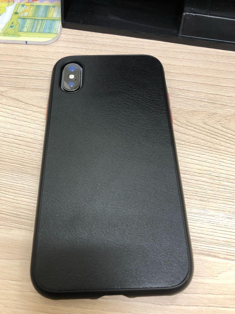 purchase cheap fd3bc 8ed30 Iphone x rhinoshield solidsuit leather