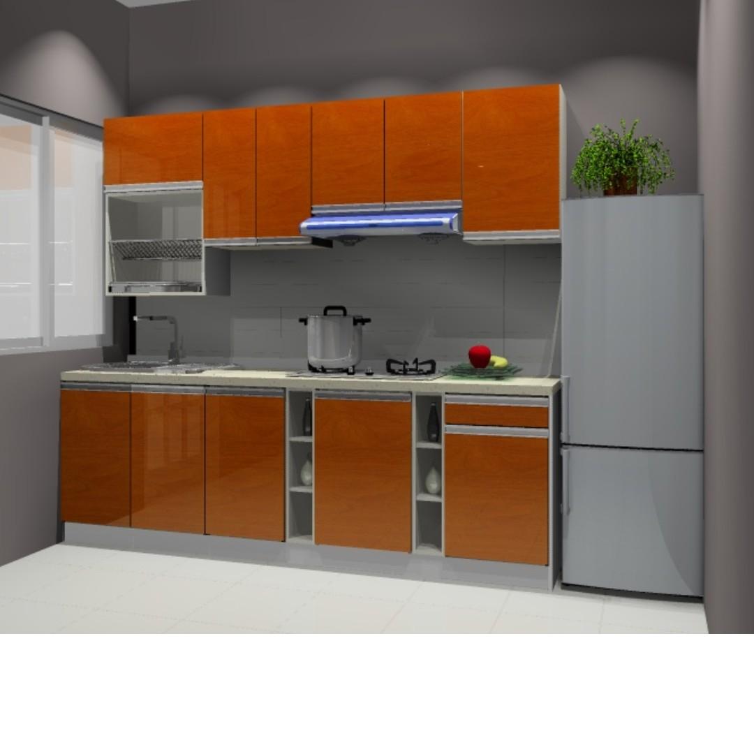 Kabinet Dapur Serba Lengkap Harga Mampu Beli Home Furniture On Carou