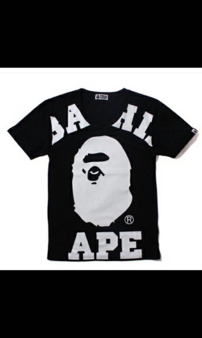 519d158d Ladies Bape Oversize Tee, Women's Fashion, Clothes, Tops on Carousell