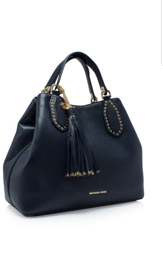 821a639e4304 BN Michael Kors Brooklyn Large Grab Bag