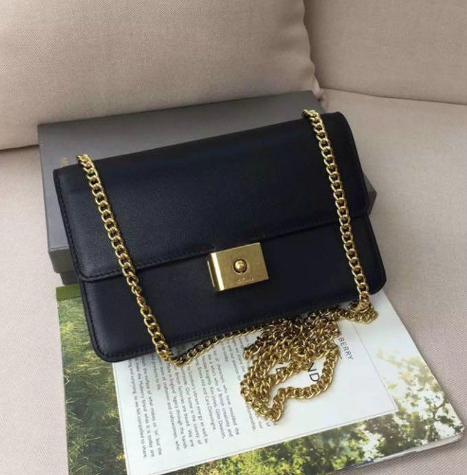 18c1261bb700 Mulberry Black Cheyne Bag Clutch