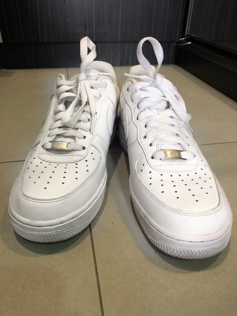 competitive price d9f02 7bf6c NIKE AIRFORCE 1 barely used, Women s Fashion, Shoes on Carousell