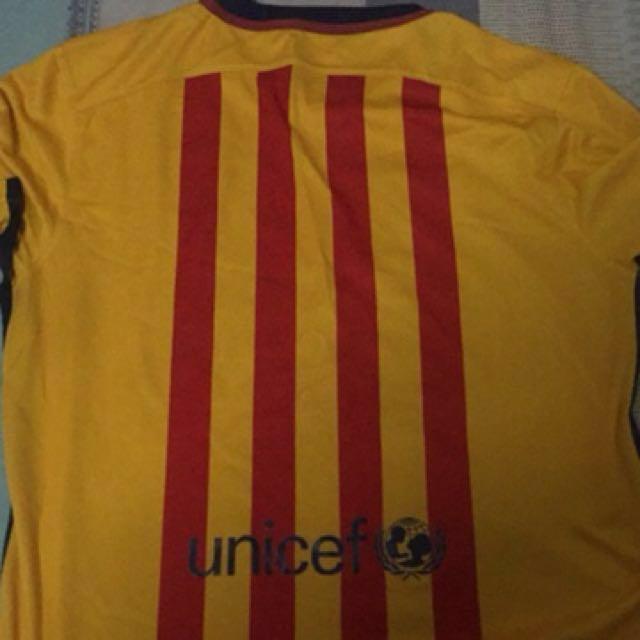 Nike Barcelona Jersey 2015-2016  Authentic af