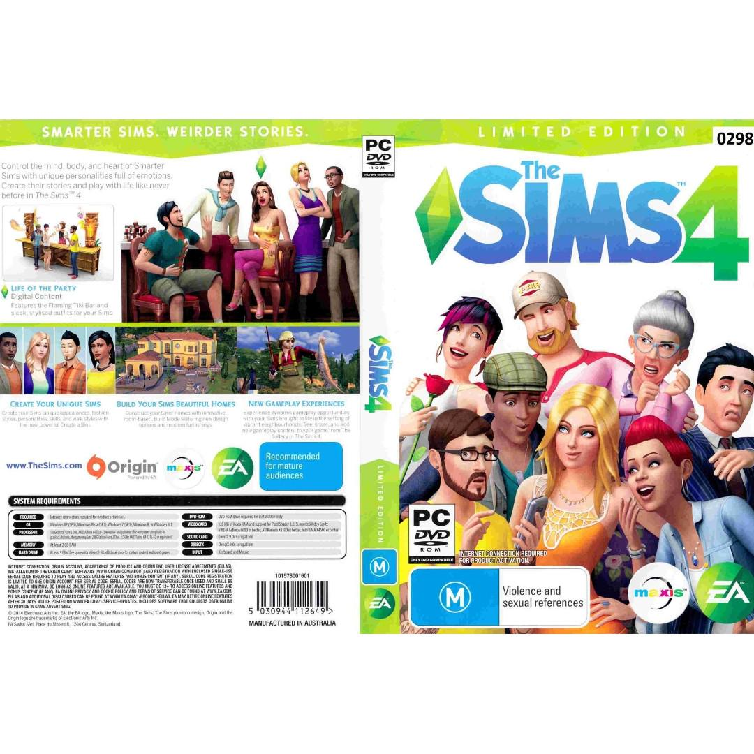Pc The Sims 4 Deluxe Edition Stranger Ville Added Video Gaming
