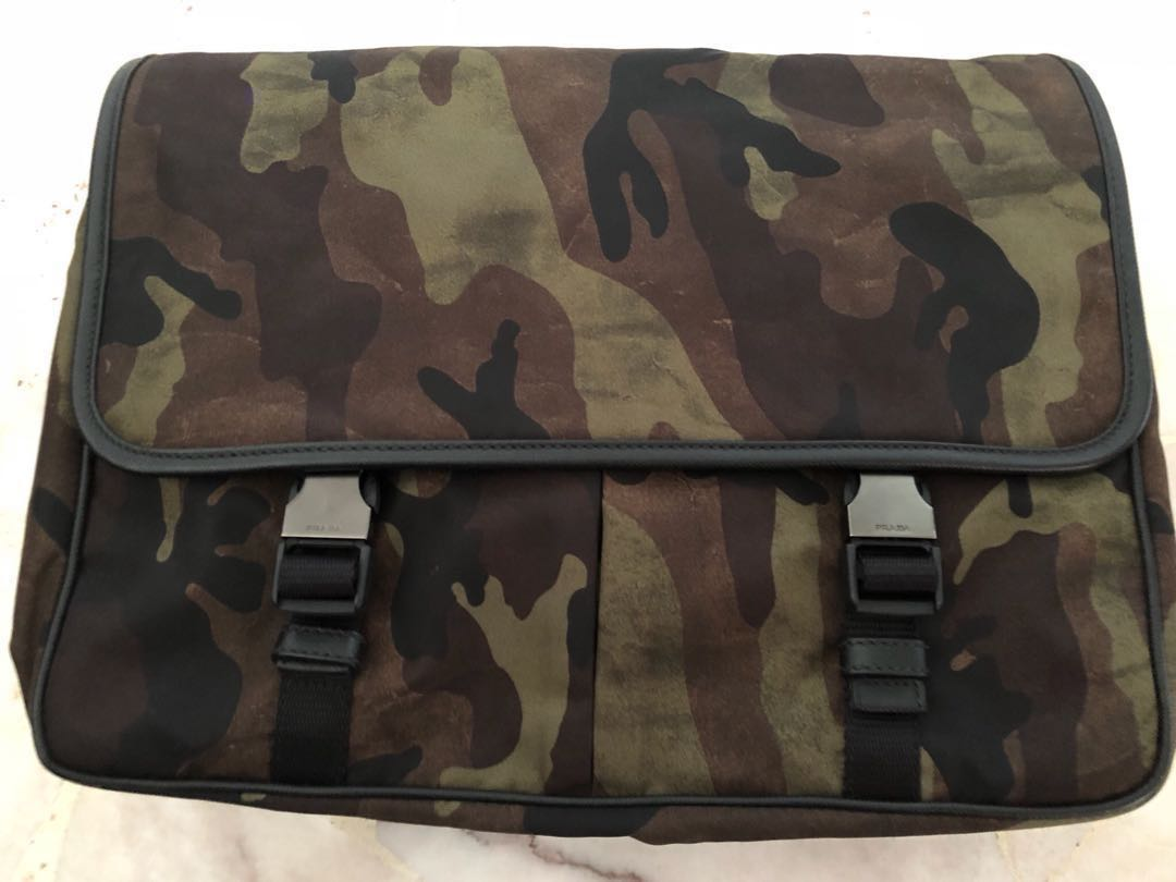 e1220afce10e ... sweden prada camo shoulder bag va0768 mens fashion bags wallets sling  bags on carousell 6478d baae3