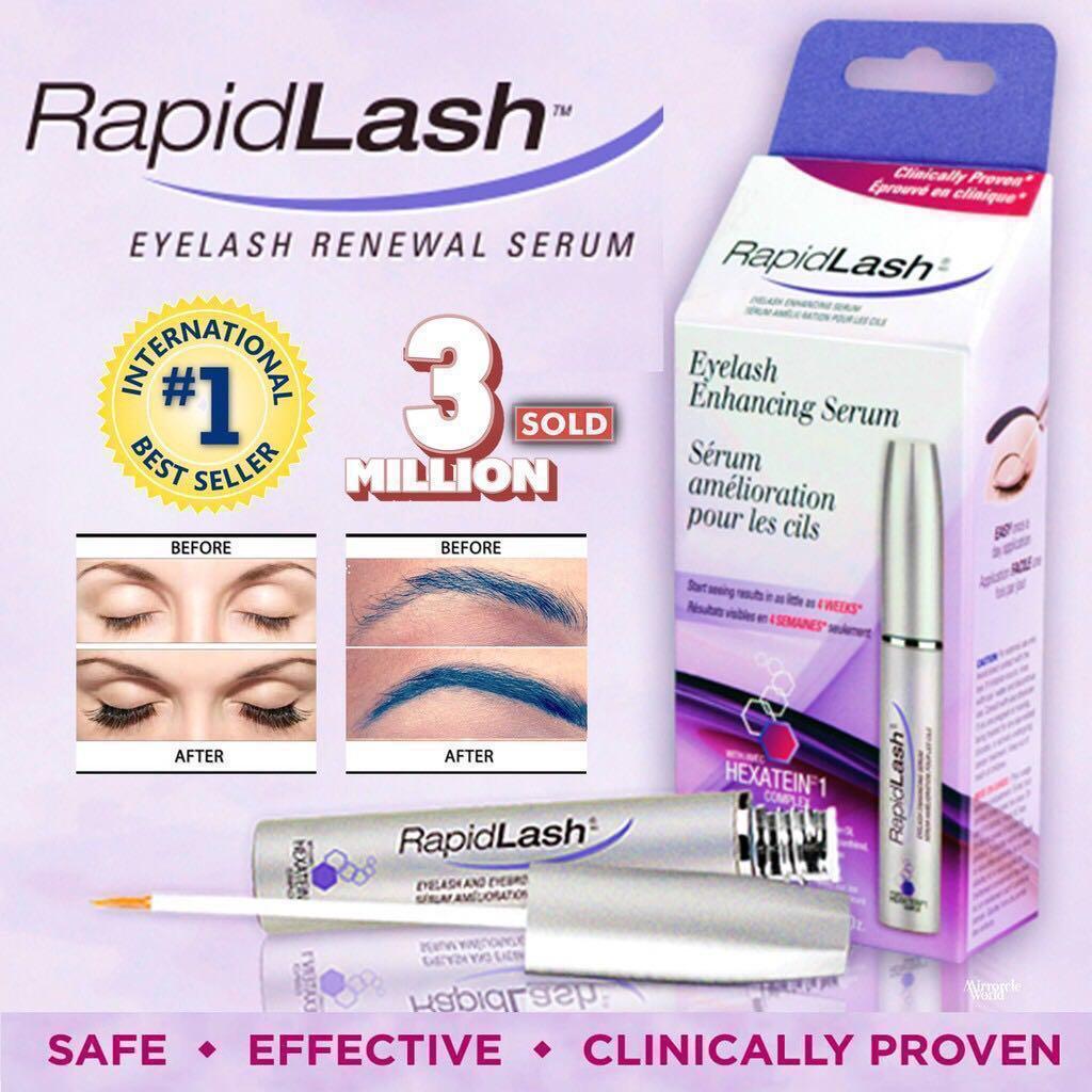 Rapidlashrapidbrow Eyelash Eyebrow Enhancing Serum Health Beauty
