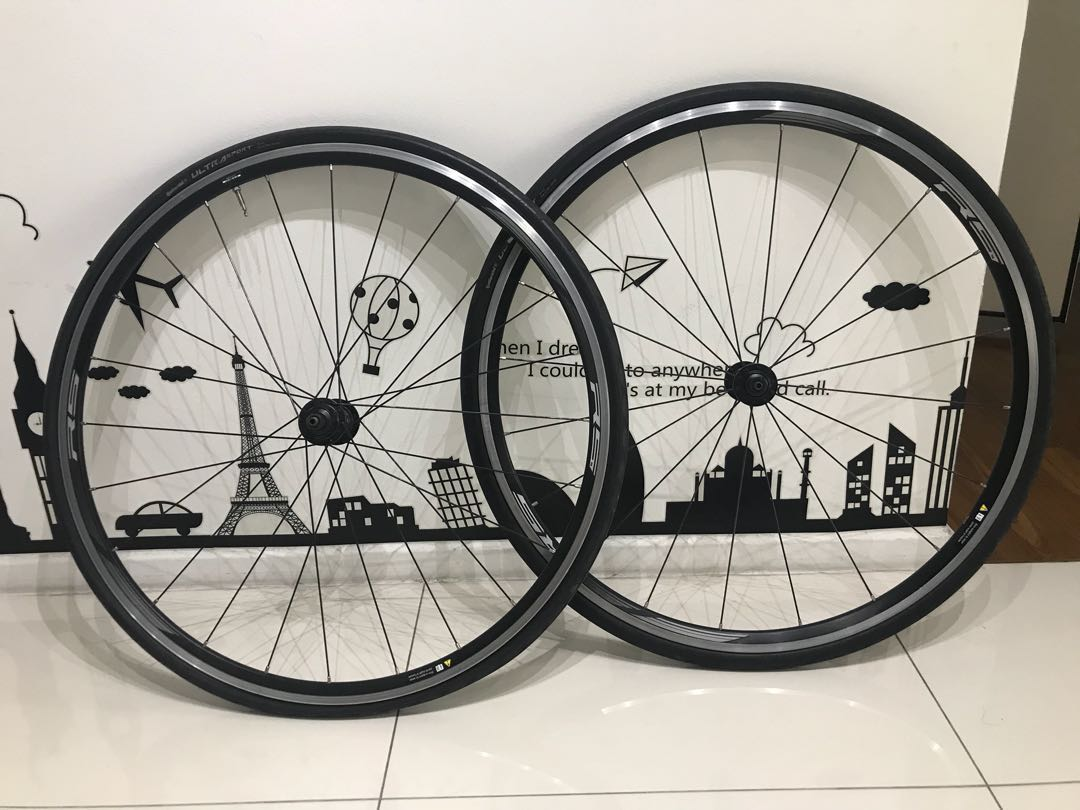 91fd78a7900 Shimano rs10 wheels, Bicycles & PMDs, Bicycles, Road Bikes on Carousell