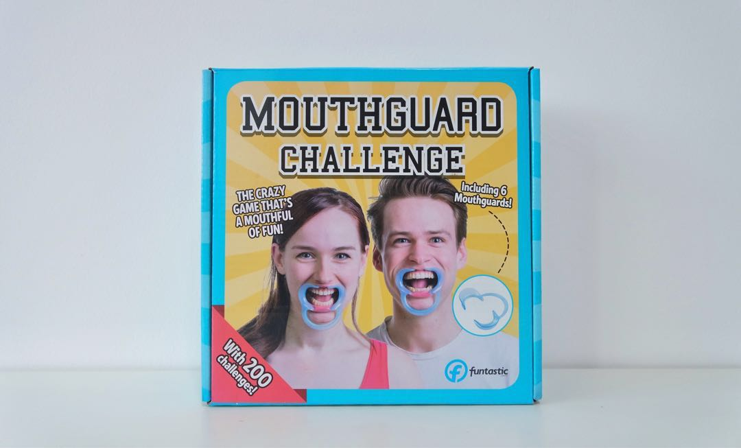 Speak Out Mouth Guard Challenge Game Toys Games Board Games