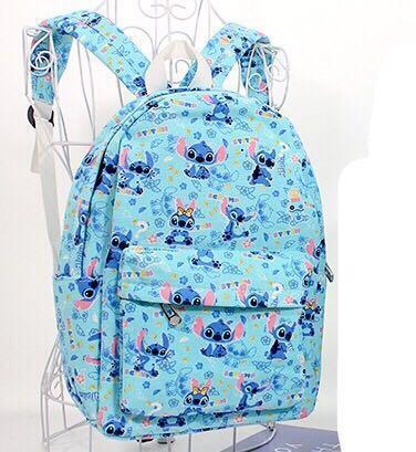7681ed9672f7 Stitch Backpack School Bag lilo and Disney Kids Children Bagpack ...