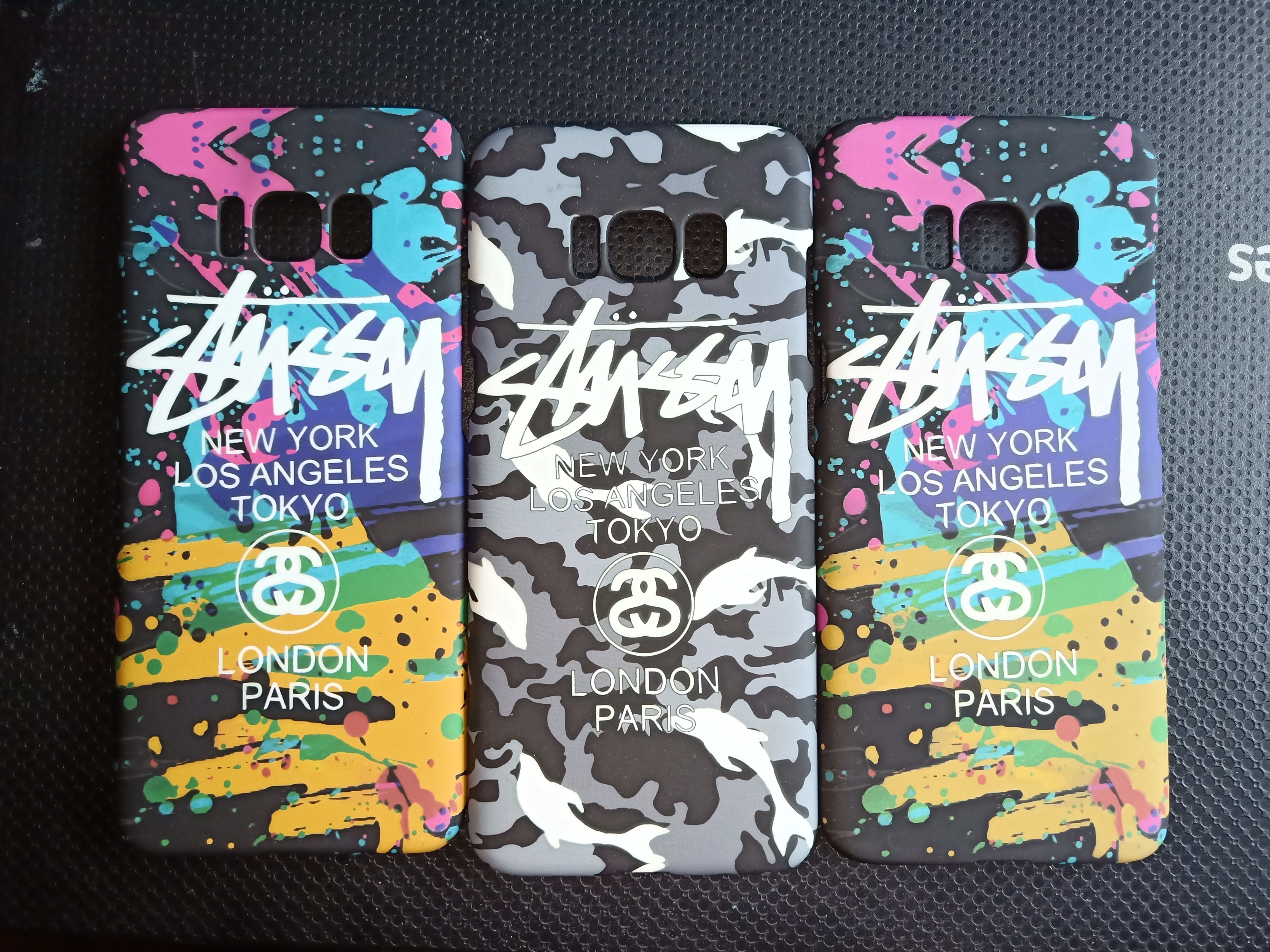 Stussy Glow In The Dark Case For S8 Mobile Phones Tablets Goospery Samsung Plus Hybrid Dream Bumper Rose Gold Tablet Accessories Cases Sleeves On Carousell