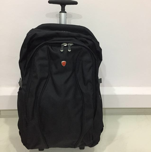 3eb43f8703 SWISS POLO TROLLEY BACKPACK