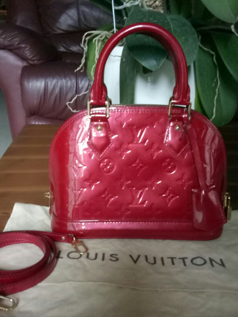 Tas Louis Vuitton Alma BB Original Bag Second Preloved LV Bekas Authentic 7847d26b61
