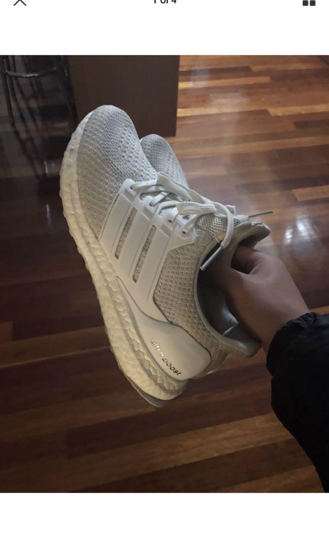 Ultraboost 2.0 triple white US8