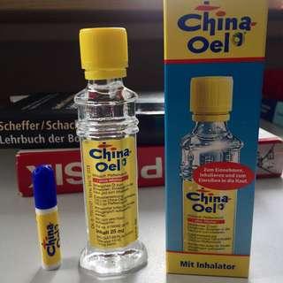 🚚 德國百靈油China oil 10ml/25ml