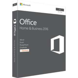 🚚 OFFICE MAC HOME BUSINESS 2016 RETAIL BOX MEDIALESS P2