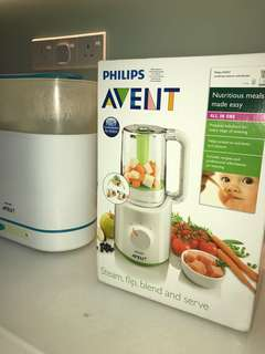 Philips 2in1 Steamer Blender