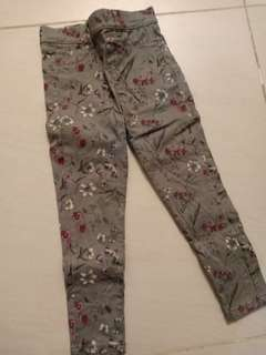 Girls floral pants