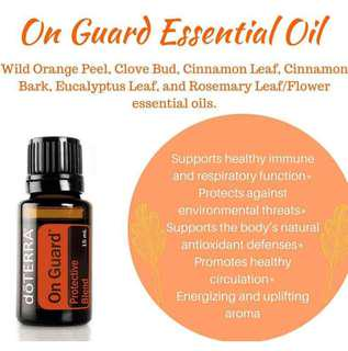 Doterra OnGuard Products for Travel