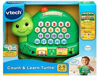 🚚 (Pre-Order)  VTech Count and Learn Turtle