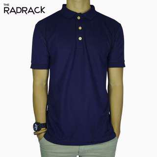 🚚 Basic Navy Blue Polo T-Shirt
