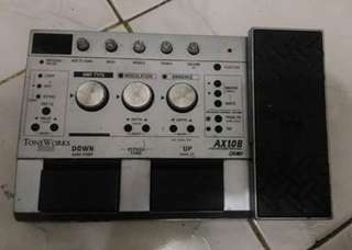 Korg AX10b digital bass guitar multi effects