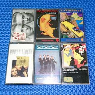 🆒 Assorted Cassettes