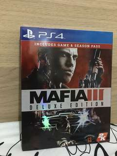 Mafia 3 PS4 Deluxe Edition