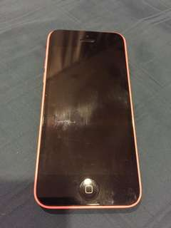 Used IPhone 5c phone only