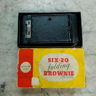 USA Kodak Six-20 Brownie Folding  Camera Vintage