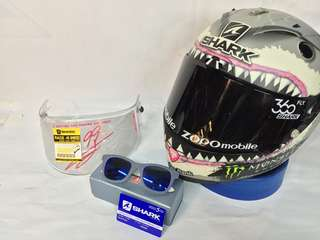 SHARK RACE R PRO LIMITED WHITE SHARK