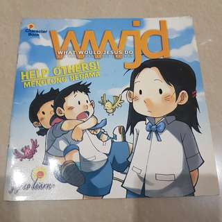 Character Book - What Would Jesus Do (Bilingual)