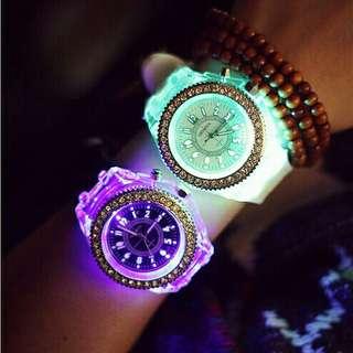 LED luminous Wrist watch