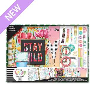 🚚 2018 - 2019 Classic Happy Planner® Box Kit - Stay Wild - Student
