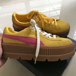 Puma x Fenty by Rihanna Cleated Creeper Suede Platform Sneakers