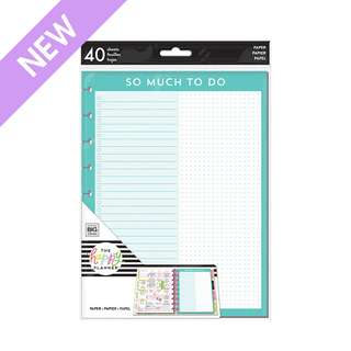 Checklists and Dots Fill Paper - Classic