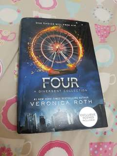 FOUR - Veronica Roth (HARDCOVER ENGLISH EDITION)