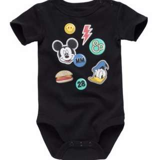 🚚 FOX BABY MICKEY DISNEY ROMPER
