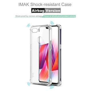 🚚 Oppo R15 Pro Shock Resistant Case Casing Full Coverage Clear