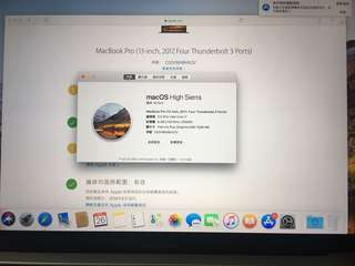 MacBook Pro Touch bar (13in Mid 2017 ) 3.5/i7   8/512