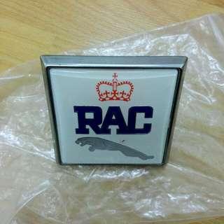 Jaguar RAC Car Badge Vintage
