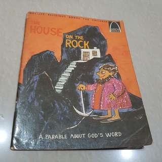 Buku cerita Alkitab - The House On The Rock